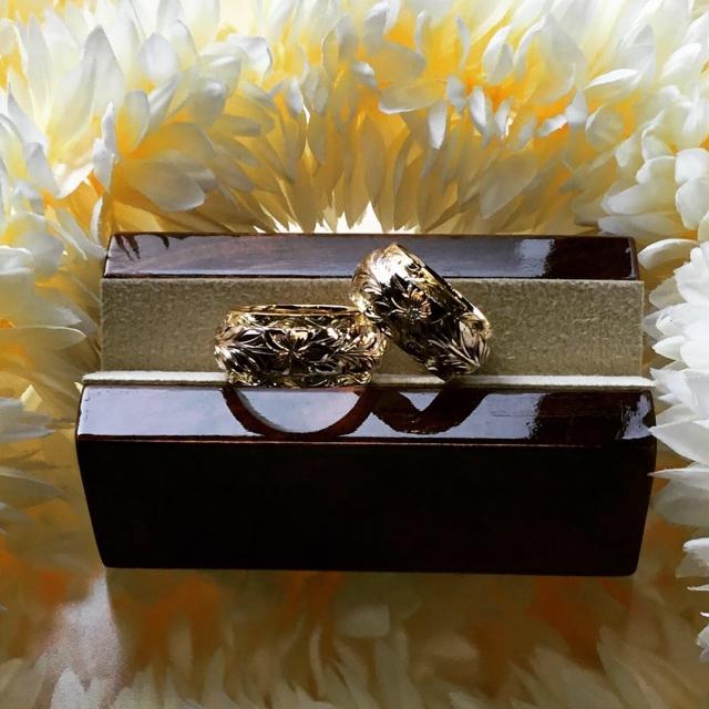 ハワイアンリング 結婚指輪